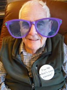 annedegruchy.co.uk image: dad at 90