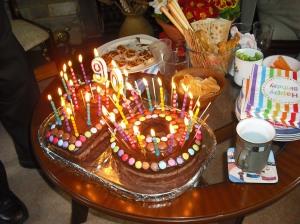 annedegruchy.co.uk image: 90th Birthday Cake
