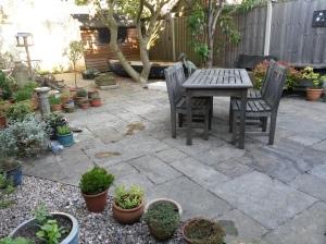 annedegruchy.co.uk image: Back Garden after work
