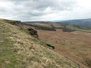 27 Beginning Stanage Edge