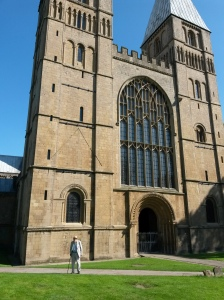 annedegruchy.co.uk image: Dad and Southwell Minster