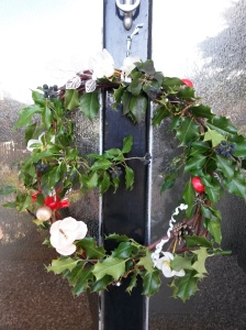 annedegruchy.co.uk image: Christmas wreath