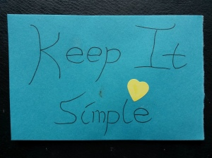 annedegruchy.co.uk image: Keep It Simple