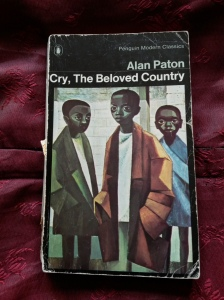 annedegruchy.co.uk image: Book Cover - Cry, The Beloved Country