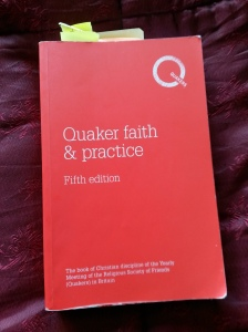 annedegruchy.co.uk image: Book Cover - Quaker Faith and Practice